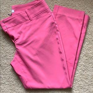 WHBM Petal Pink Cropped Pants